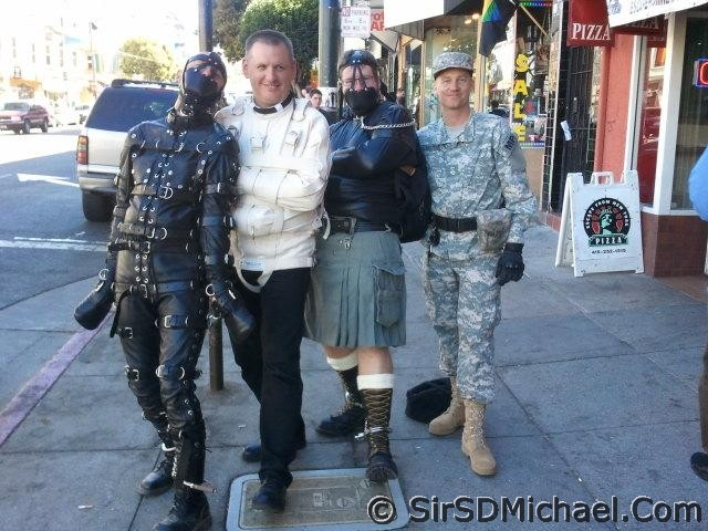My group in the Castro. I'm in the Army uniform.
