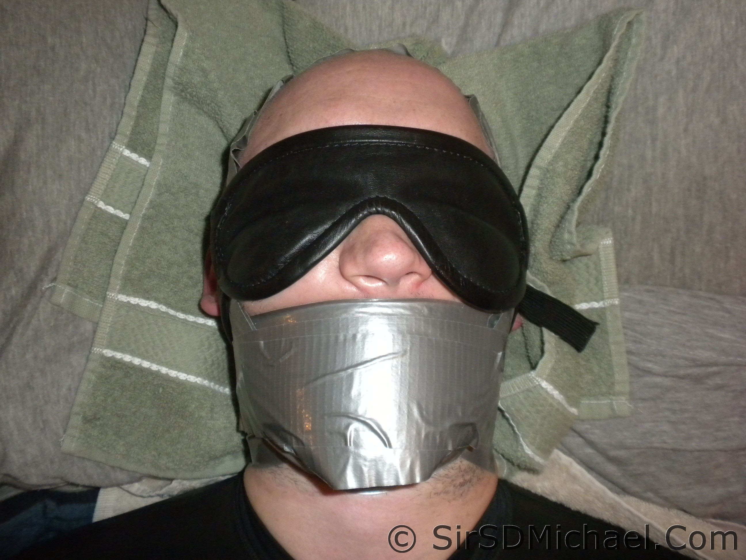 Duct Taped mouth
